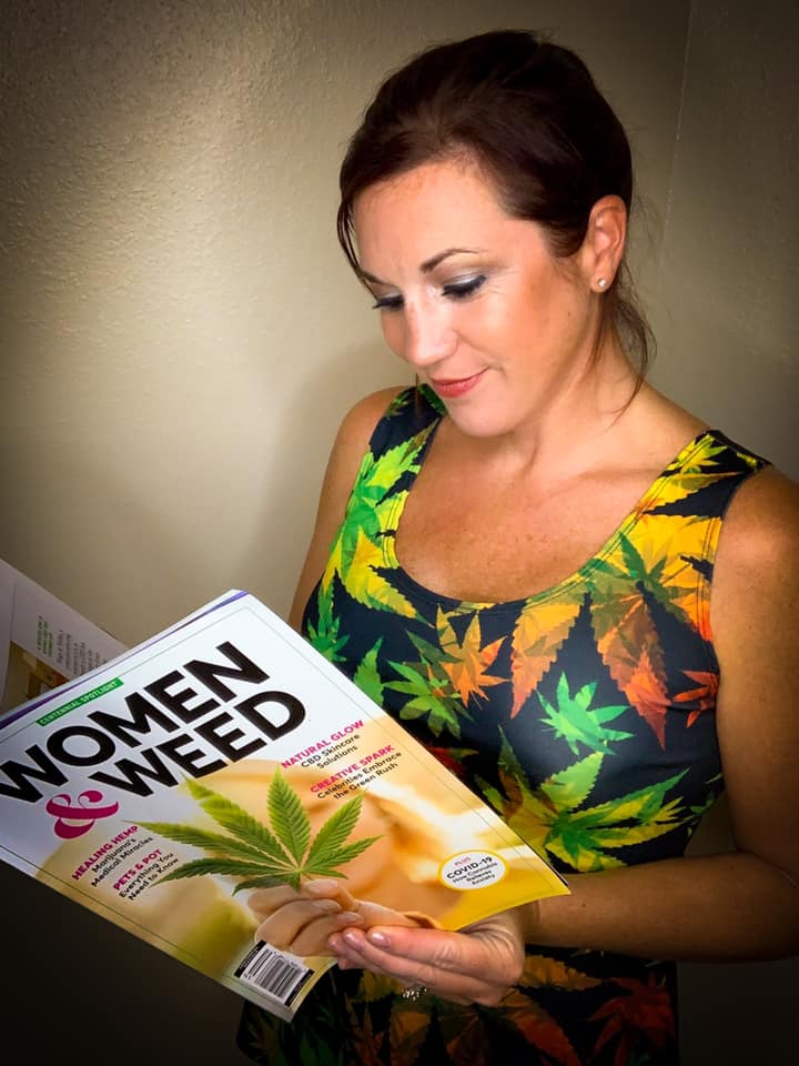 Crystal Reading Women & Weed